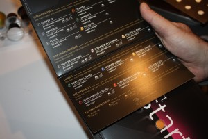 Nespresso Coffee Menu - Included with the Pixie