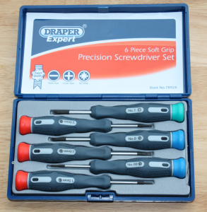 Draper Expert  78924 Precision Screw Drivers