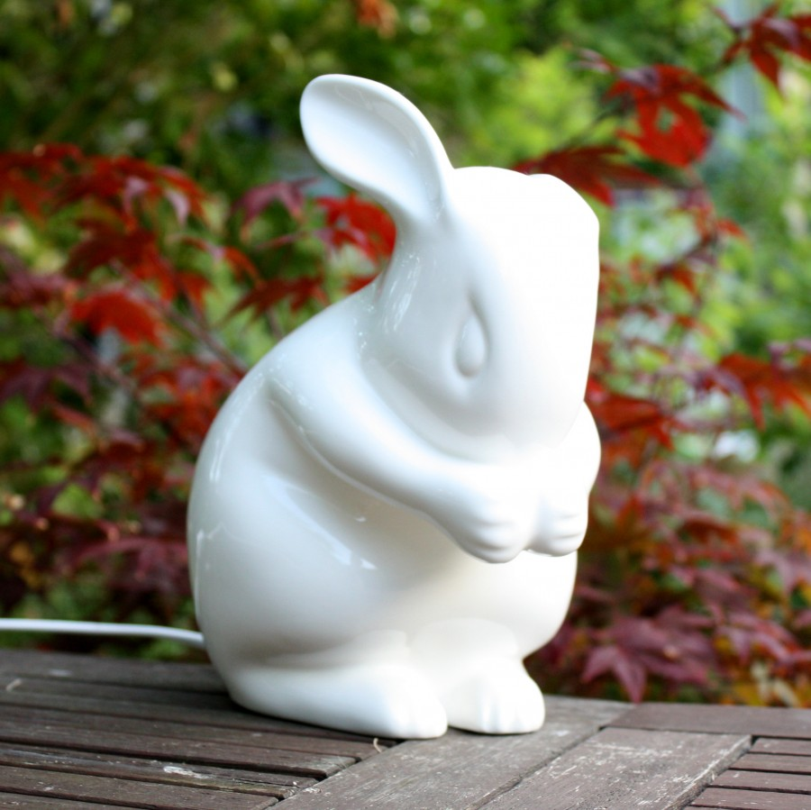 Review Of White Rabbit England Rabbit Lamp Review Bunny